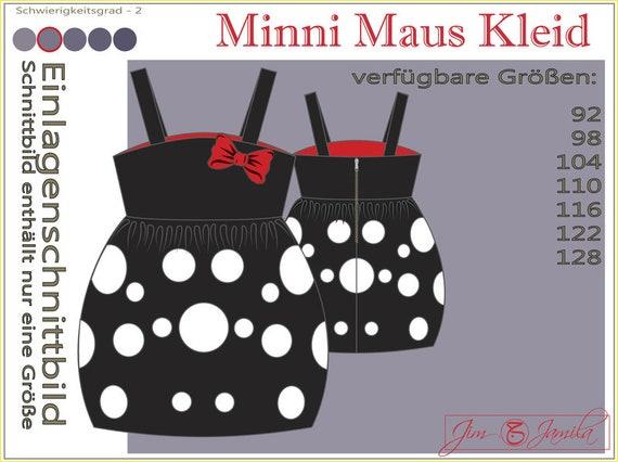 Minni Maus Kleid Schnittmuster zum Downloaden | Etsy