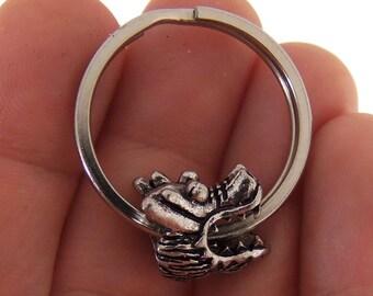 Chinese dragon key fob, dragon keychain, dragon purse charm, dragon bag charm, dragon charm, Chinese dragon charm, stocking stuffer, gifts