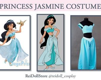 DISNEY, Aladdin - Princess Jasmine Costume, Adult - MADE to ORDER