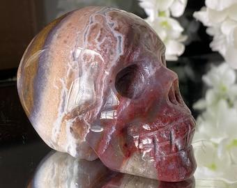 Jasper Crystal Skull Carving.