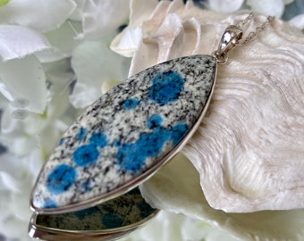 K2 Azurite Jasper- resonates with third eye & helps its user to elevate to a higher consciousness in medicine