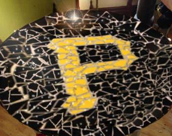 Pittsburtgh Pirates Tile Mosaic Table