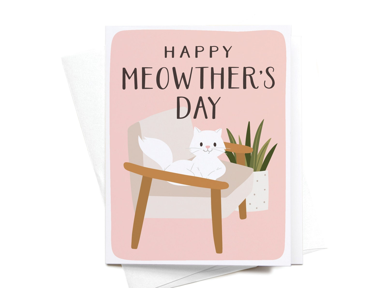 Happy Meowther's Day Greeting Card
