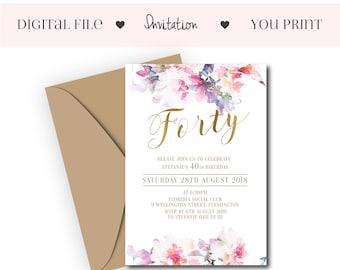 online invitations etsy