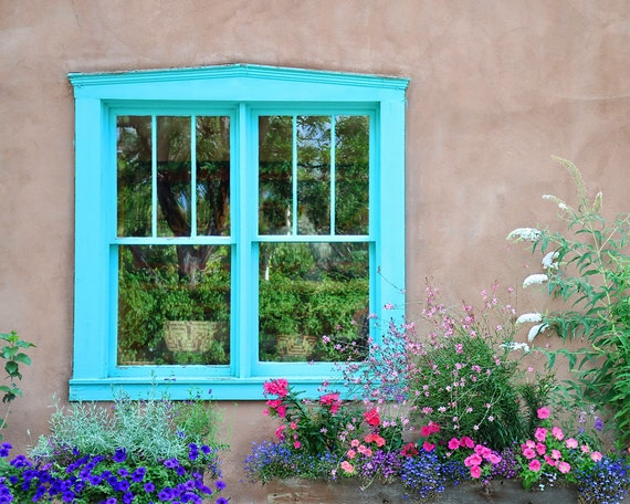 Window Photo Art Southwestern Wall Art Santa Fe Art Print