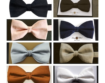 Silk Bow Ties, Handmade