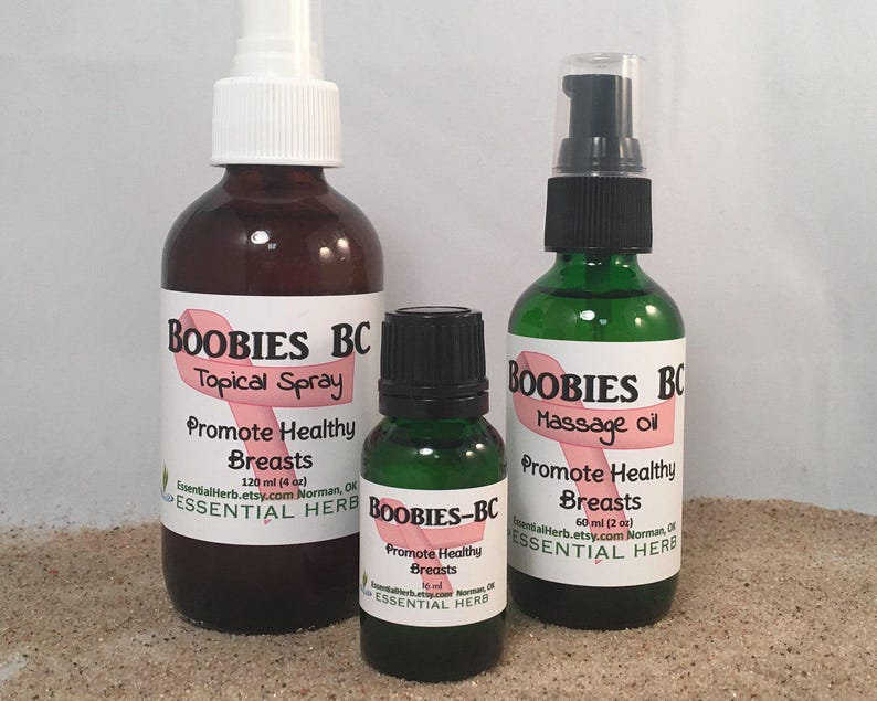 BOOBIES BC Essential Oil Blend, Breast Health, Breast Cysts, Breast Cancer  Awareness, Survivor, Healthy Breasts