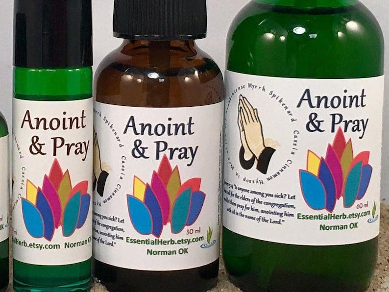 ANOINTING OIL, Prayer Oil, Essential Oil, Healing, Anoint, Laying on of  Hands, Prayer Group