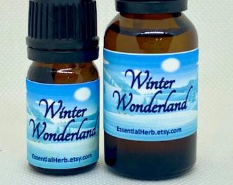 Winter Wonderland Pure Essential Oil, Seasonal Diffusing Blend, Holiday Aromatherapy