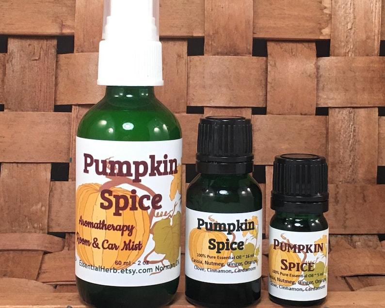 PUMPKIN SPICE Essential Oil PSL Pumpkin Latte Seasonal image 0