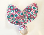 Teething Ring | Pink, Gre...