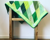 Quilt | Forest Greens...