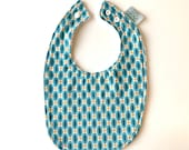 Baby Bib | Blue & Orange...