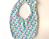 Baby Bib | Multi Dots...