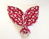 Teething Ring | Red Buzzy...