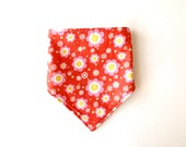 Dribble Bib | Red Floral ...
