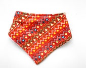 Dribble Bib | Red Pattern...