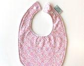 Baby Bib | Pink Floral...