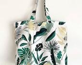 Tote Bag | Green & Gold L...