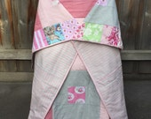 Quilt | Pink & Grey Flora...
