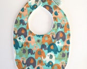Baby Bib | Elephants...