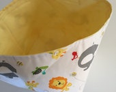 Fabric Bin | Animals...