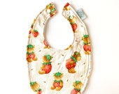 Baby Bib | Strawberry Bea...