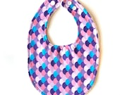 Baby Bib | Purple Mix...