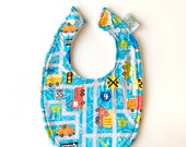 Baby Bib | Trucks & Cars...