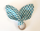 Teething Ring | Blue & Or...