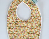 Baby Bib | Yellow Floral...