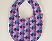 Baby Bib | Coloured Scale...