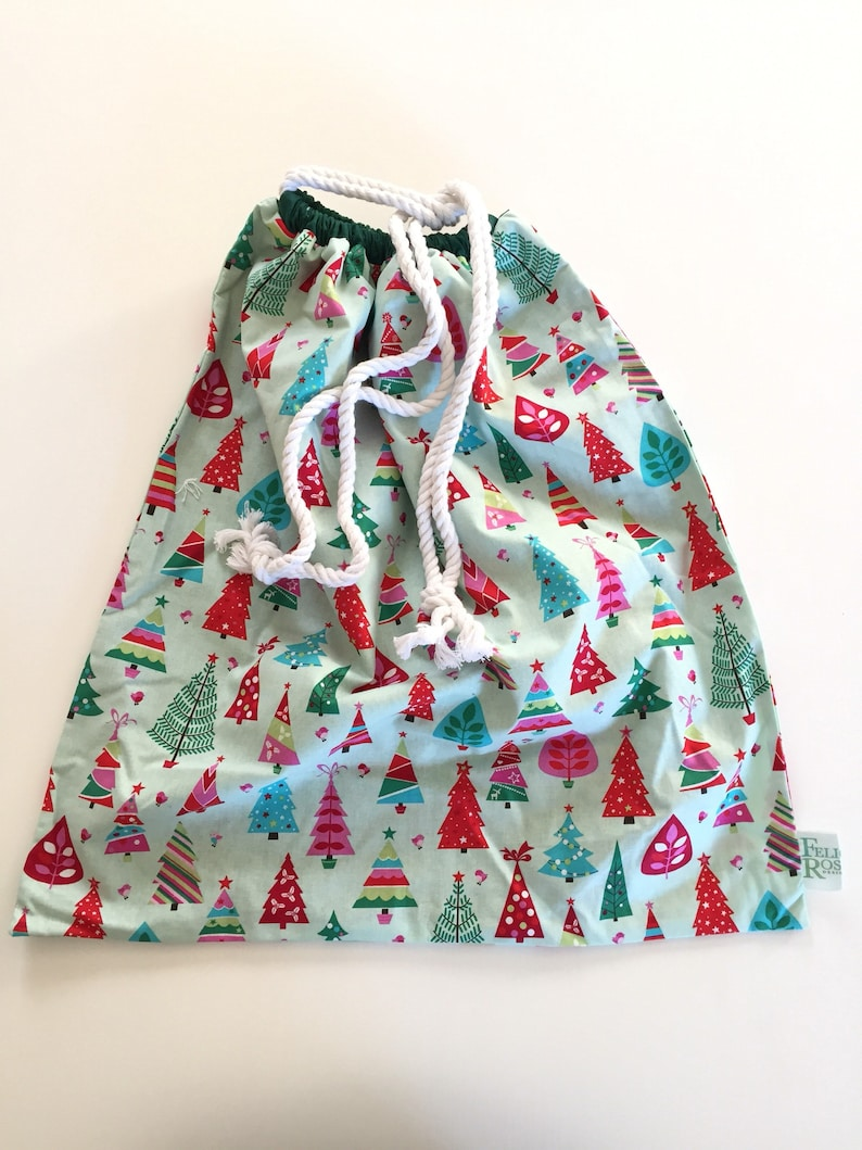 Santa Sack  Christmas Trees image 0