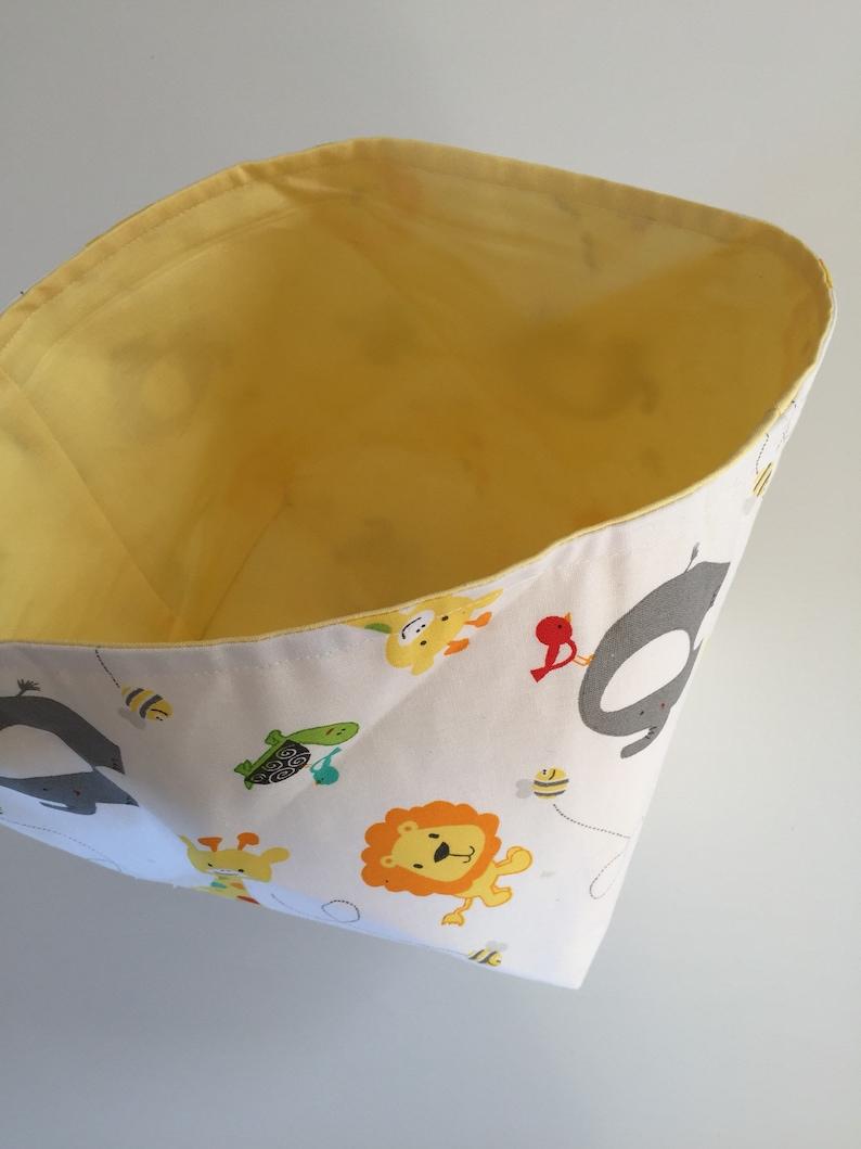Fabric Bin  Animals image 0