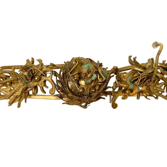 Antique Qing Dynasty Tian-Tsui Tiara 200622-K