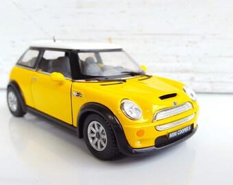 Mini Cooper Toy Car Etsy
