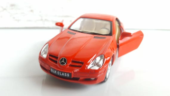 Mercedes Benz Slk Metal Toy Car Model Lovely Collectible