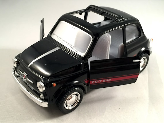 Fiat 500 Metal Toy Car Model Lovely Collectible Item Etsy