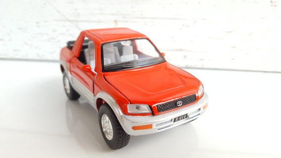Toyota Rav4 Cabriolet Metal Toy Car Model Lovely Etsy
