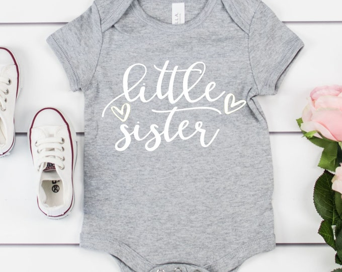 Little Sister / Pregnancy Announcement / Baby Girl / Baby Sister / Girl