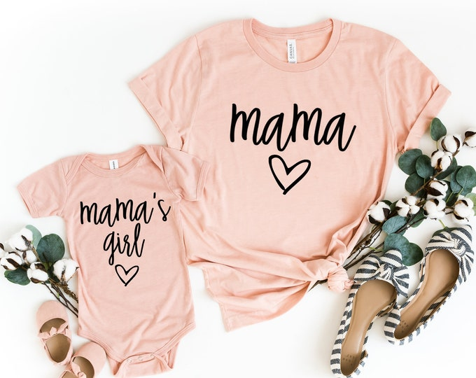 Mommy & Me Outfit / Mama / Mama's Mini / Mother Daughter