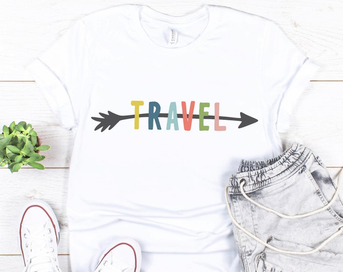 Travel tee / Vacation / Graphic Tee / Trendy / Modern / Gift