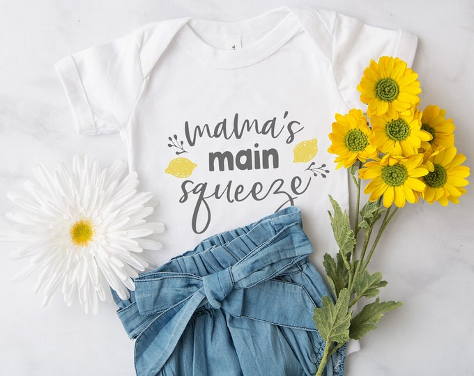 Mama's Main Squeeze  / Baby Bodysuit / Cute Baby Clothes / Baby Gift / Baby Shower