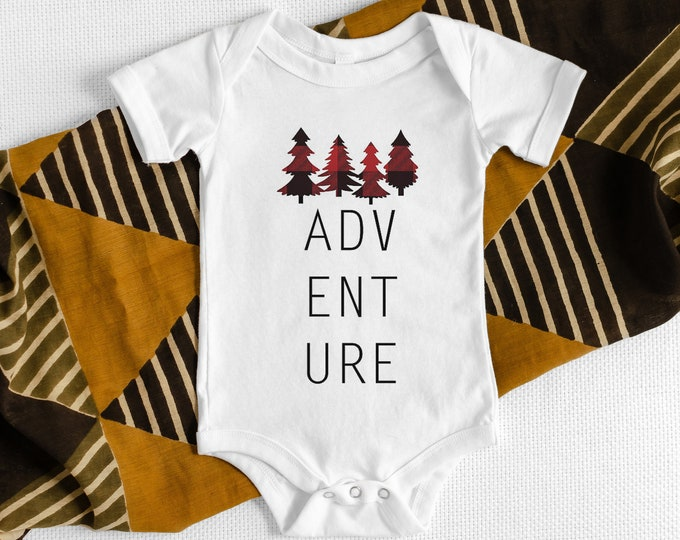 Adventure / Baby Bodysuit / Baby Clothes / Baby Gift / Baby Shower