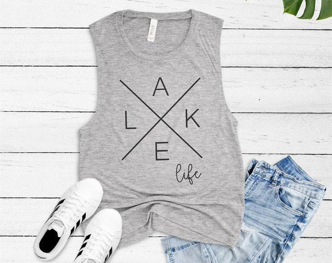 Lake Life Tank / Funny Tank / Gym Tank / Summer Tank