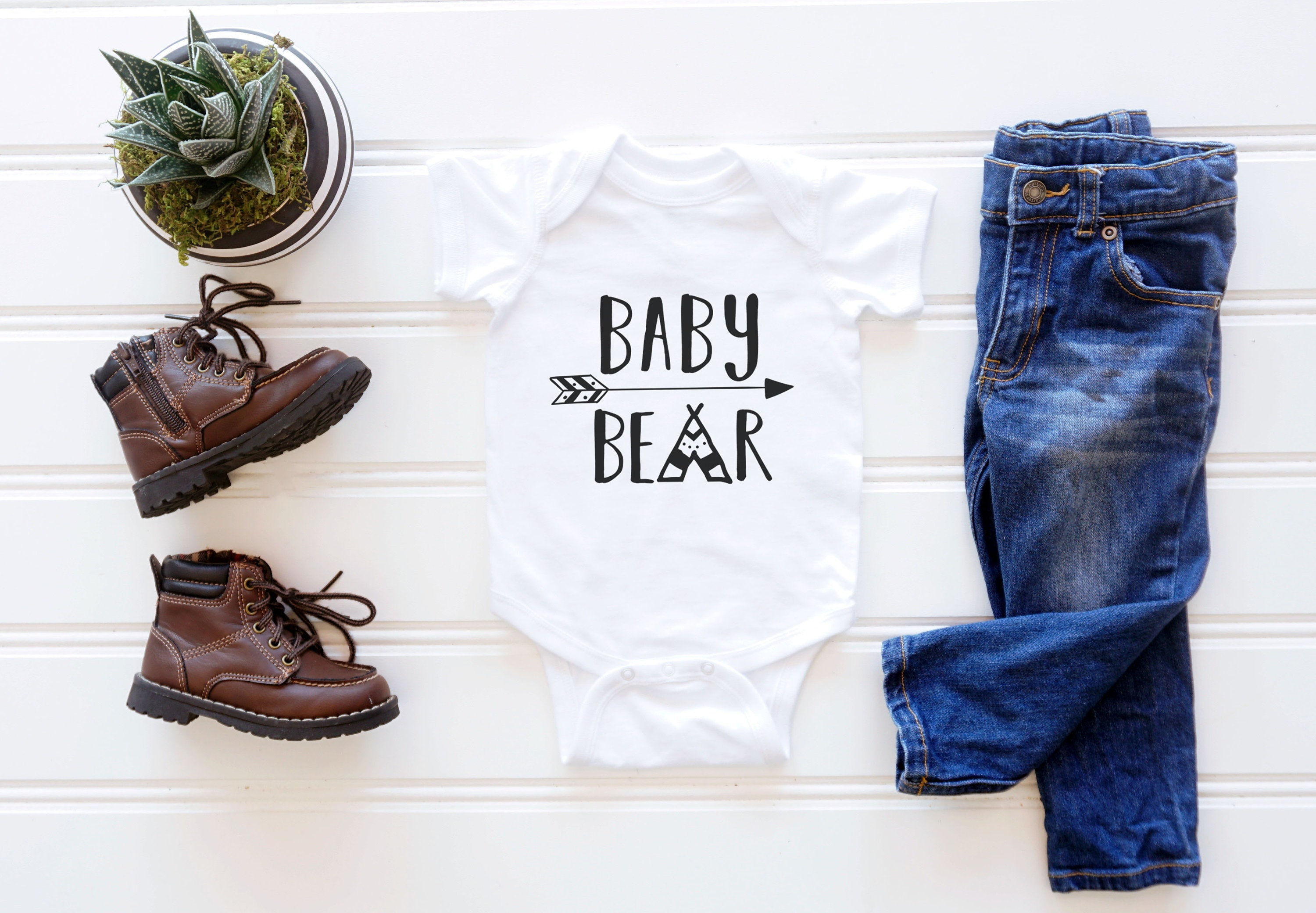 1ab1cc486 Baby Bear Onesie / Baby Clothes / Baby Gift / Baby Shower / Pregnancy  Announcement / Pregnancy Reveal. gallery photo gallery photo