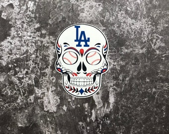 ff0fa80decc Small Los Angeles Dodgers Sticker