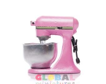 Automatische Mixer Keuken : Poppenhuis miniatuur kleurrijke keuken hulp mixer etsy