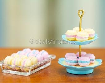 Dollhouse Miniature 1:12 Scale Dolls Plastic Dessert Snack Can Jar Po Kd