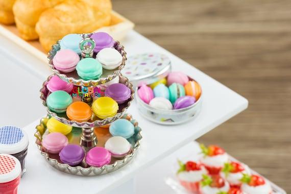 20Pieces Chicken Egg Model Dollhouse Miniatures Kitchen Food Display White